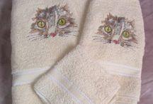 Cat Towels
