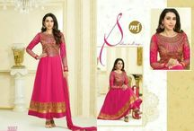 MF Karisma / Traditional Anarkali suits with Embroidery and Jari and Stone Work