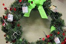 xmas nurse decorations
