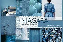 Pantone: Niagara