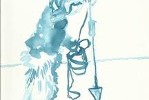 Susanne Haun - drawing Arktis