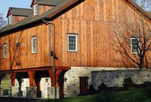 Bank Barns / A collection of Bank Barns built by B&D Builders. For more examples visit us at www.custombarnbuildings.com.