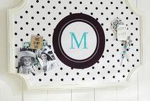 Bedroom Pinboards
