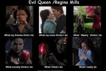 Regina Mills/ Evil Queen