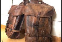 Deri: Saddle bag