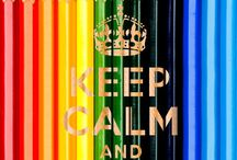 keep calm / by Britney Moore