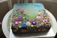 Spring summer cake