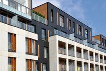 Budownictwo / Produktów dla budownictwa mają zastosowanie jako materiały elewacyjne, izolacje ścienne i dachowe, wykończeniowe oświetleniowe i w przemyśle drogowym.