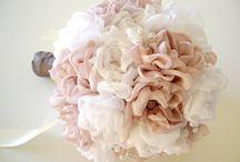 Bridal bouquets / Bridal bouquets, floral arrangements for wedding all handmade beads and wire.