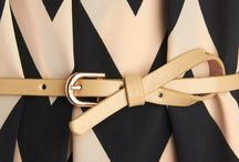 combination with belts