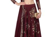 Ethnic Fusion Wedding Wear