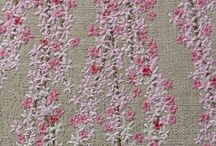 fine flowers embrodery