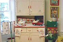 ~Retro/Vintage Kitchen~ / ~Brings Back so Many Fond Memories~ / by Sandra Williams Smith