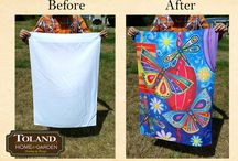 Fun with Flags! / We like to have fun with our decorative art flags and want to share the fun with you!