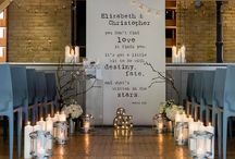 rustic indoor wedding