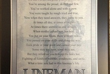 The Line life!! / Life as a lineman Wouldn't trade it for anything  / by todd hodges