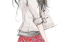 fashion illustration - Xunxun Missy