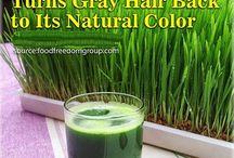 naturally recolor hair