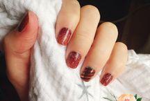 Jamberry - Nailfies / Jamberry, nailfie, mixed mani, Jamicure, Jams, summer nails, diy nails, nail art, winter nails, autumn nails, nail swag, nail ideas, pretty