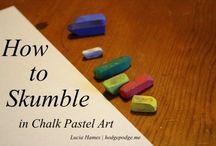 pastels for kids