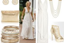 Greek Godess White and gold 21st