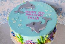 Themed birthday cakes