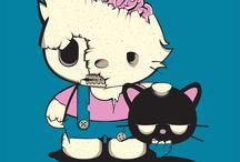 Hello•Kitty •◦♡◦• / Cause it's cute..