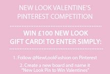 New look pin to win valentines