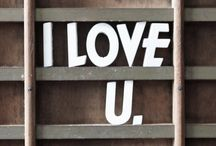 i love u / by Lavani Pillay