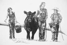 Cattle art
