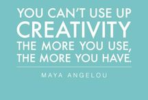 Creativity / Creative quotes, inspiration, and love!