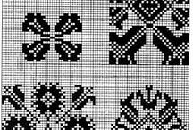 háčkované folklorne vzory