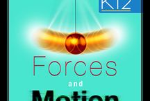 Forces and Motion / Forces and Motion K12 Learning app helps to know the difference between mass and weight, Identifying the forces on an object and to calculate the resultant of two or more forces.