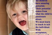 Follow the children....