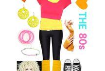 Disfraces años 80