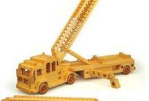 miniatuur kraanwagens