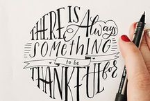Quotes handwritten lettering