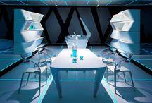 Cucina TRON / Ambiente cucina del film TRON Legacy