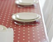 Home: Oilcloth addict  / Love the look of a good oilcloth table cover, cushions etc / by Hepzaba Mae