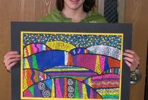 Art Classroom Projects:Upper Grades / by Melisa Thornton