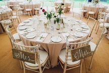 Wedding Trends 2016: Rustic-Luxe Styling / The Authenticity trend is brought to life with rustic-luxe styling. Brides, don't be fooled; it takes a lot of effort to make this wedding reception decor look effortless. Finishing touches are by no means old and battered(!) and the detailing and execution has to be perfect.