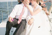 Nautical Wedding Ideas / Beautiful Nautical Themed Wedding featured at http://pinterestdreams.blogspot.com/2014/11/nautical-wedding-at-annapolis-yacht-club.html