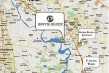 Brys Buzz by Brys Group Noida location Map