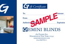 Gemini Blinds Seasonal Offers / Seasonal sales on Hunter Douglas Window Fashions!