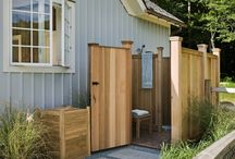 Home Outdoor Shower / by Nancy Giansante