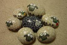Malování na kameny a další miniatury