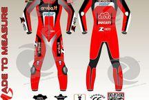Chaz Davies Ducatie Aruba.it leather suit