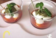 cucina: ricette nel bicchiere e finger food