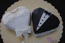 Yıldönümü-Kutlama / Arkadaşlık, Nişan, evlilik yıldönümleri için tasarım Pasta-Kurabiye-Cupcake