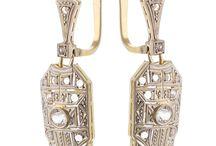 Joyas Art Deco / Joyas Art Deco, pendientes, anillos, pulseras, collares, broches, años 30, años 20